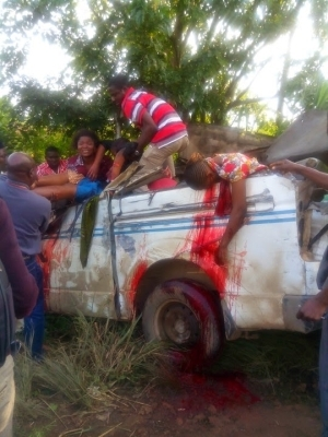 Ghastly Motor Accident involving RCCG Members Coming From Redeemption Camp.